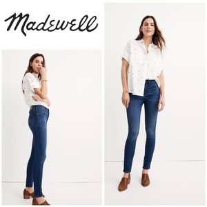 Madewell Roadtripper High Rise Jeans Orson Wash 25